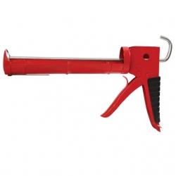 Пистолет для выдавливания силикона 225 мм с обрезиненной рукояткой HT-0023