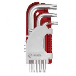 Набор Г-образных ключей TORX PRO НТ-1821