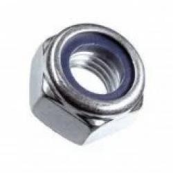 Гайка самостопорящаяся с пластиковым кольцом DIN 985 А2