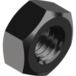 Гайка шестигранная DIN 934 10кл.  Без покрытия
