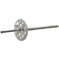 Термодюбель с металлическим стержнем и термозаглушкою ОБРИЙ